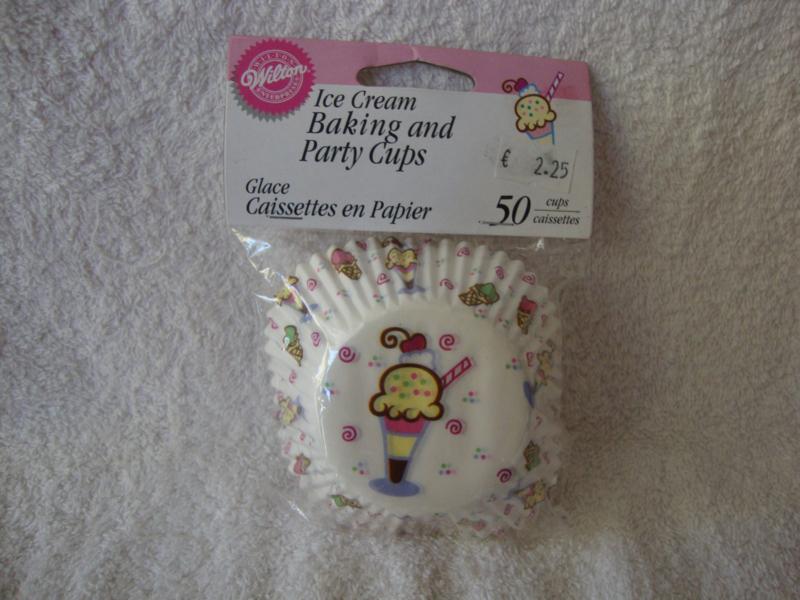 Cupcake vormpjes Ice Cream 50 stuks Wilton - 415-131
