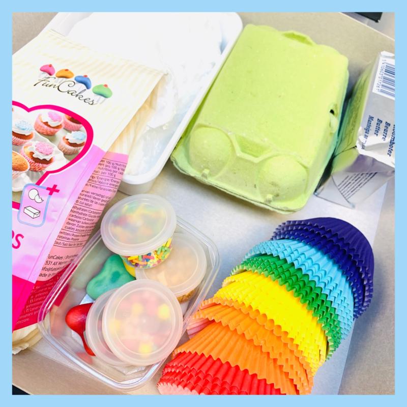 Workshop To Go Pakket Cupcakes Bakken