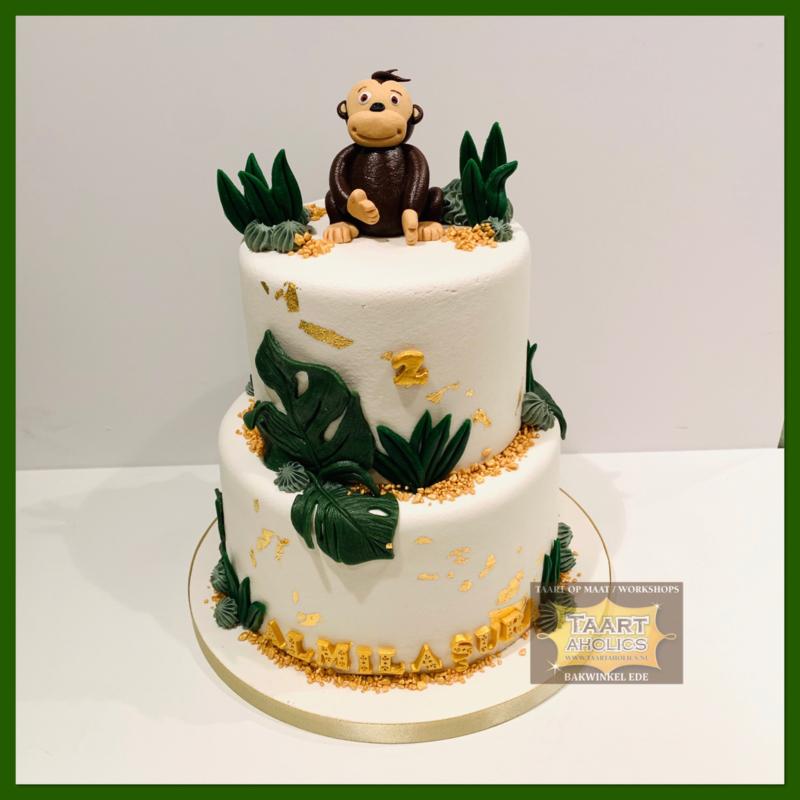 Aap taart 16 personen
