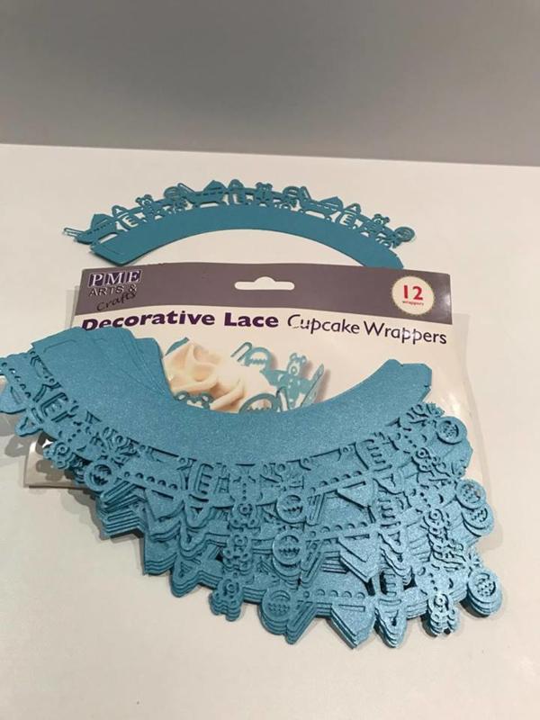 Cupcake Decoratie Wrapper