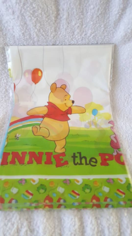 Winnie the Pooh plastic tafelkleed