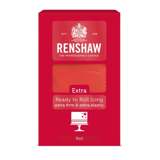 Fondant Red - Renshaw 1000gram