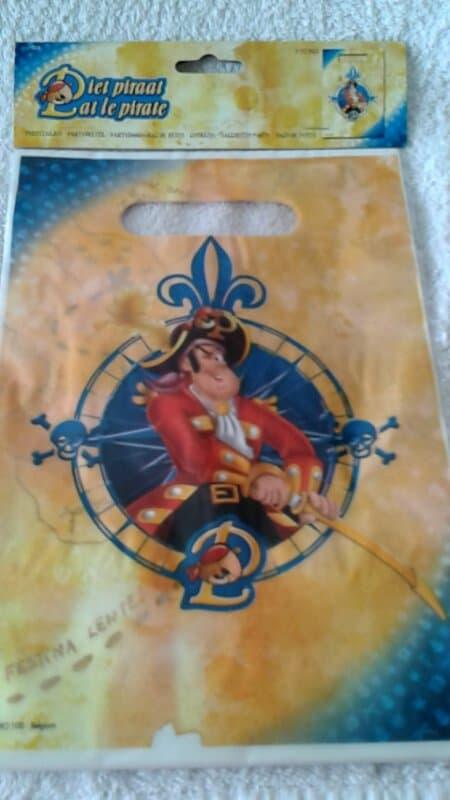 Piet Piraat Feestzakjes - 8 stuks