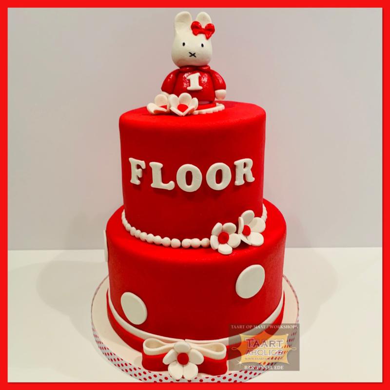 Nijn taart 16 personen