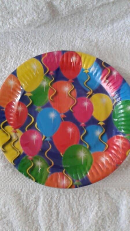 Ballonnen Borden - 8 stuks