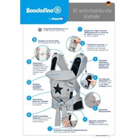 Bondolino Plus blauw-grijs