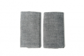 Emei Teethingpads Grey
