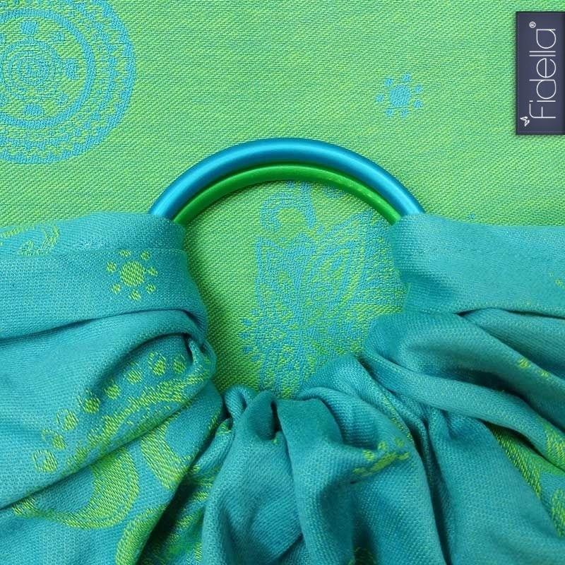 Fidella ringsling Shiva Spirit green