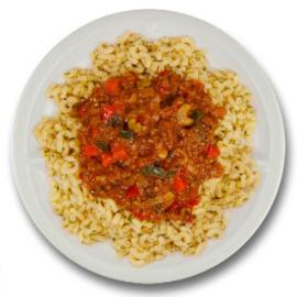 Macaronischotel bolognese