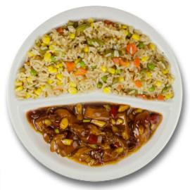 Thais gestoofde vis, pikante cajun rijst