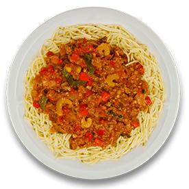 Spaghettischotel bolognese