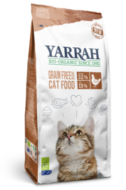 Yarrah kattenvoer organic kip & vis graanvrij