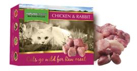 Natures Menu Cat Frozen Chicken & Rabbit 400 gram