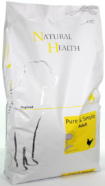 Natural Health Chicken & Rice Adult 7,5 kg