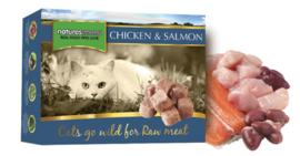 Natures Menu Cat Frozen Chicken & Salmon 400 gram