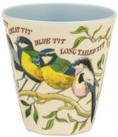 Melamine beaker Birds