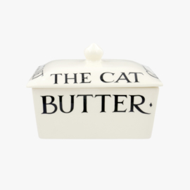Small butter dish Black Toast