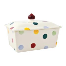 Small butter dish Polka Dot