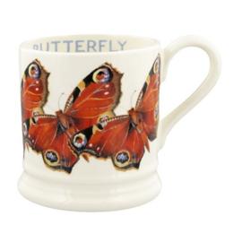Half pint mug Peacock Butterfly Pauw Vlinder