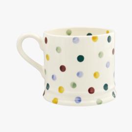 Small mug small  mini Polka Dots