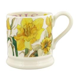 Half pint mug Daffodils