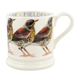 Half pint mug Fieldfare Kramsvogel