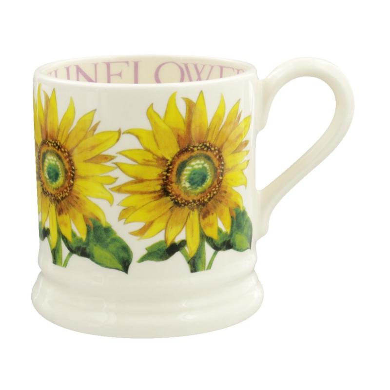 Half pint mug Sunflower