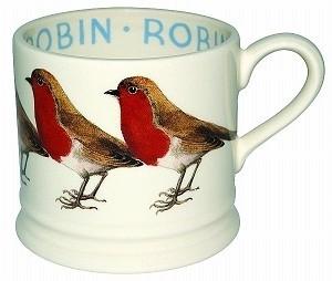 Baby mug Robin