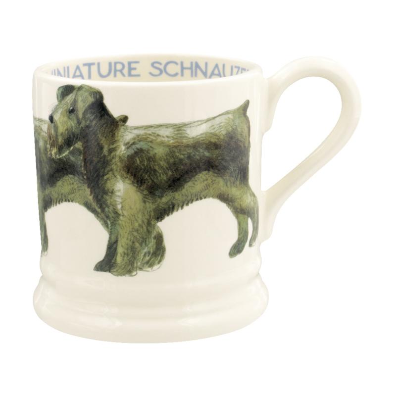 Half pint mug Miniature Schnauzer