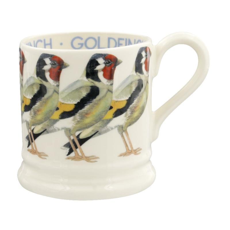 Half pint mug Goldfinch