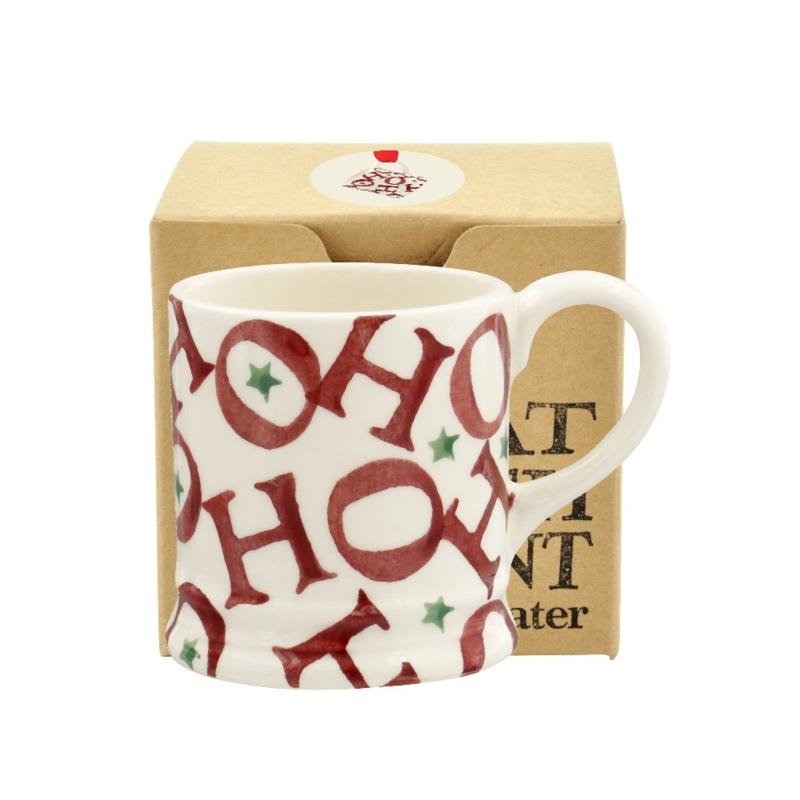 Tiny mug Red all Over 'Ho ho ho' Espresso
