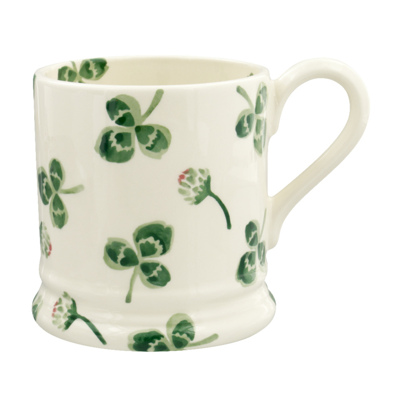 Half pint mug Clover Flower Klavertjes