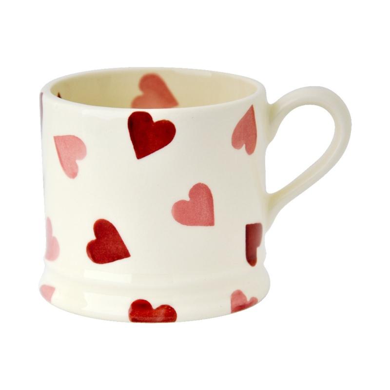 Small mug Pink Hearts