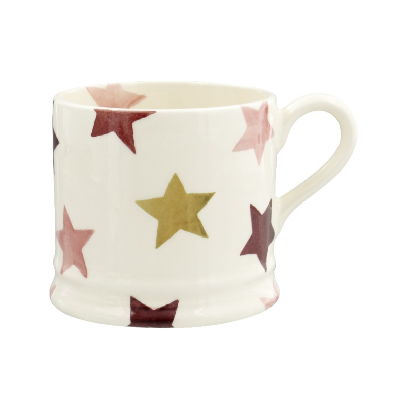 Small mug Pink & Gold Stars