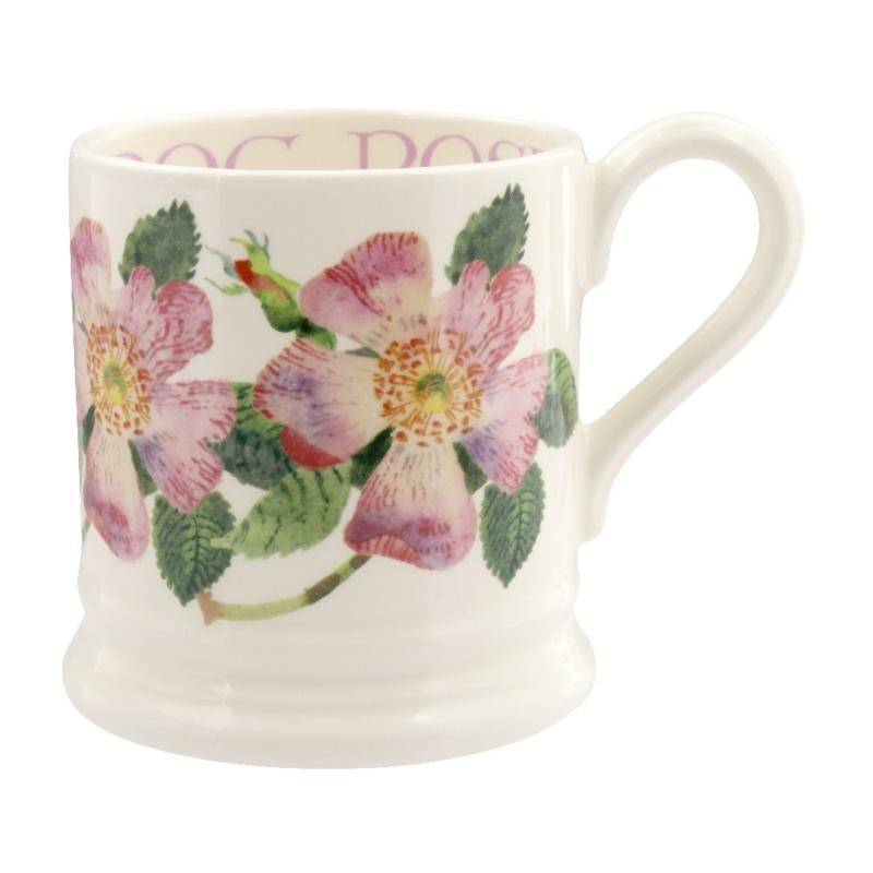 Half pint mug Dog Rose