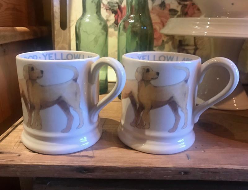 Half pint mug Yellow Labrador