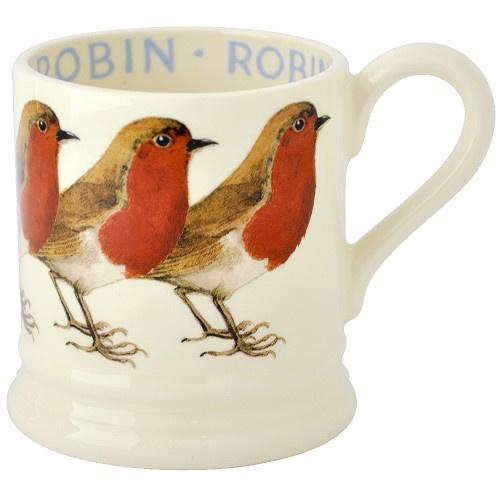 Half pint mug Robin