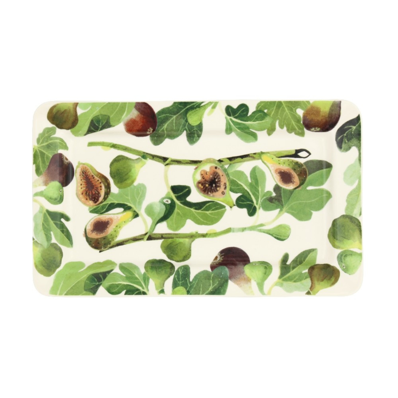 Medium oblong plate Figs