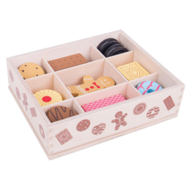 Houten Box met koekjes, BigJigs