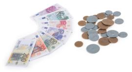 Speelgoed geld, munten