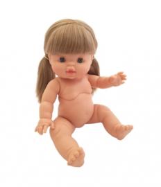 Paola Reina Gordi babypop met lang blond haar, Paola Reina