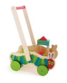 Houten Loopwagen, babywalker Rupsjenooitgenoeg ,  Small Foot