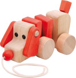 Trek hondje rood