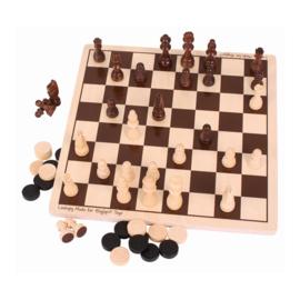 Houten dammen en schaken, Bigjigs