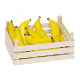 Bananen in kistje, Goki