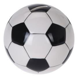 Spaarpot voetbal keramiek - 12 cm