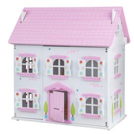 """BigJigs houten poppenhuis """"Butterfly Cottage"""""""