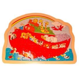 Houten puzzel Ark van Noach, Playwood