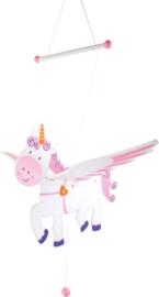 Houten mobile Eenhoorn unicorn