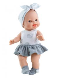 Gordi pop Anik blank meisje, met jurkje, Paola Reina